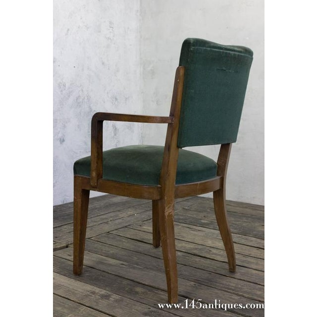 Set of Eight Dining Chairs, French, 1930s - Image 10 of 11