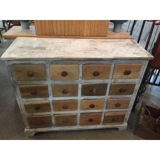 Vintage Rustic 12 Drawer Wooden Chest Preview