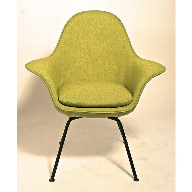 Mid-Century Modern Pair of Mid-century Modern Chairs by Hans Bellman for Strassle, Switzerland 1954 For Sale - Image 3 of 6