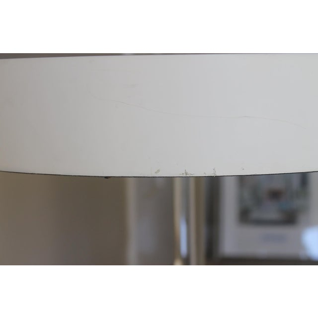 Mid-Century Modern Mid-Century Modern Port 68 Maxwell White/ Gold Accent Table For Sale - Image 3 of 7