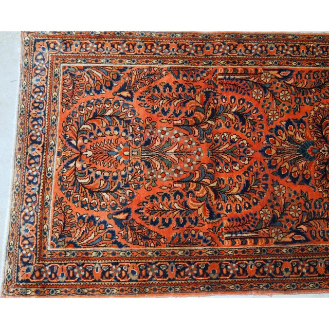 1920s, Handmade Antique Persian Sarouk Rug For Sale In New York - Image 6 of 8