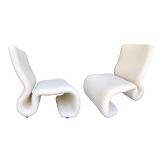 Pair of Ghost Armchairs by Jan Ekselius. Sweden, 1970s For Sale