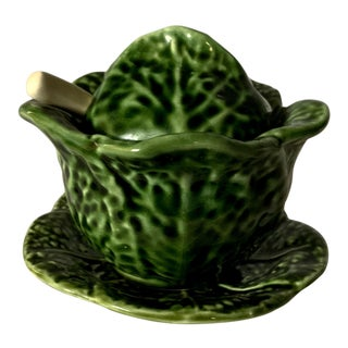 Small Cabbage Wear Serving Bowl For Sale