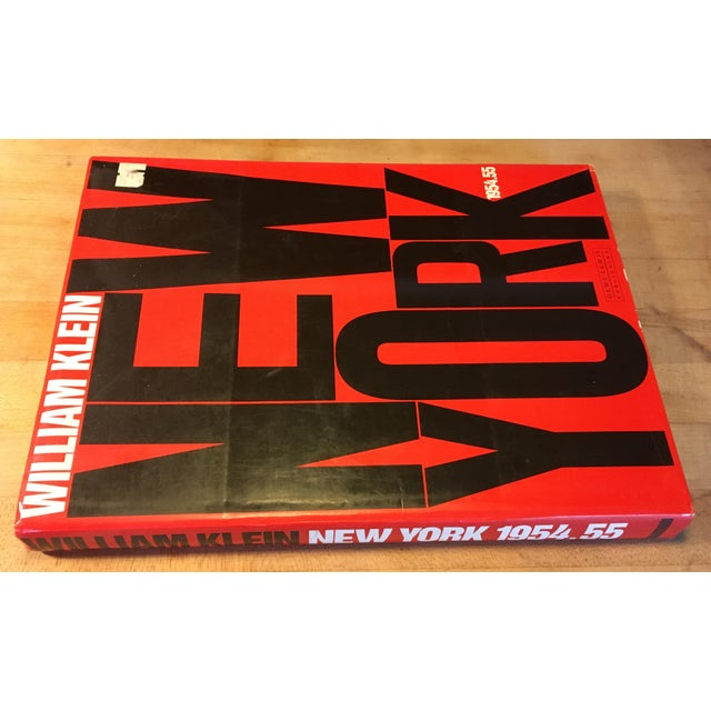 """Modern William Klein """"New York"""" 1954-1955 Coffee Table Photography Art Book For Sale - Image 3 of 13"""
