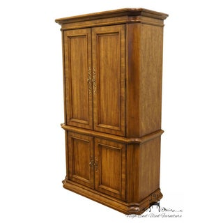 Stanley Furniture Italian Neoclassical Tuscan Style Clothing Armoire Preview