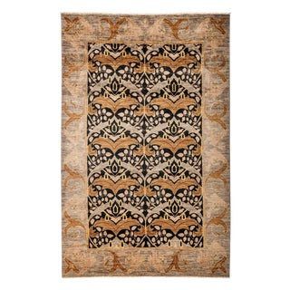 """Arts & Crafts Style Hand Knotted Area Rug - 5'2"""" X 7'10"""" For Sale"""