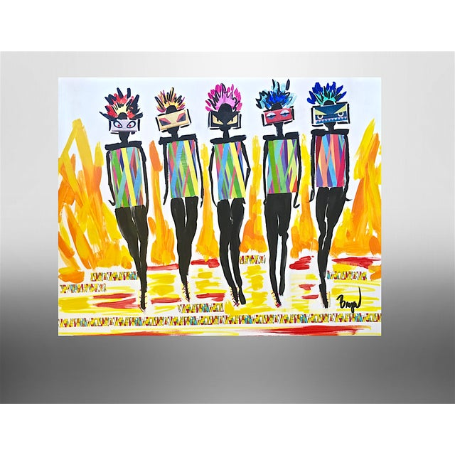 Pop Art Fashion Illustration by Bryan Boomershine For Sale - Image 3 of 3
