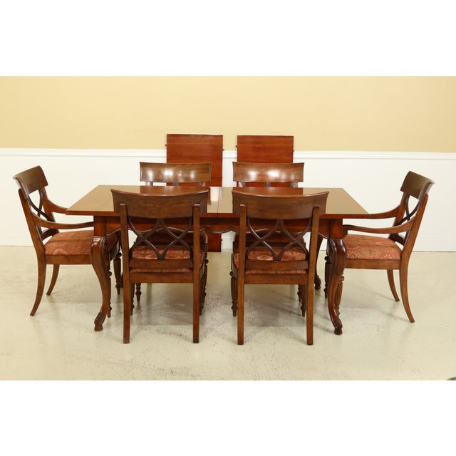 Stickley French Style Dining Room Table & Chairs Set - 7 Pieces For Sale - Image 13 of 13