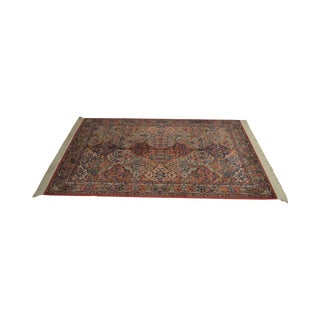 Karastan Multicolor Panel 5.9 X 6.9 Area Rug # 717 For Sale