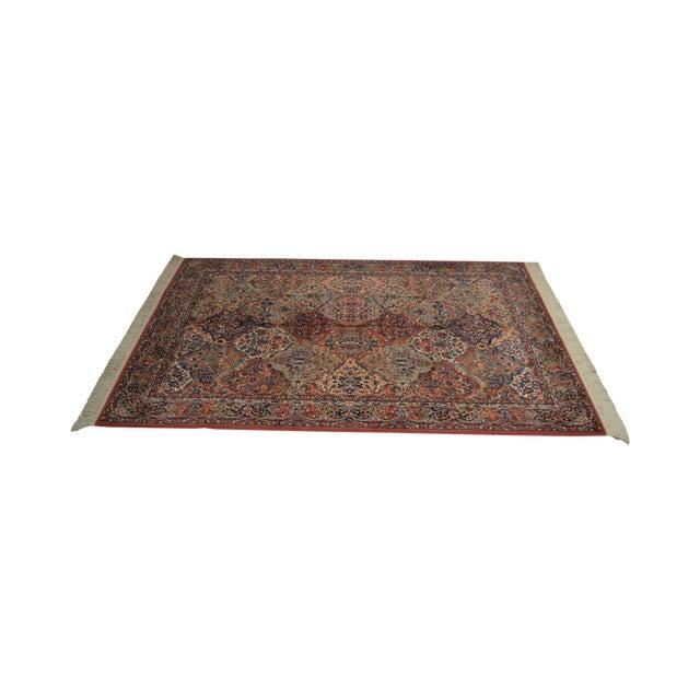 Karastan Multicolor Panel 5.9 X 6.9 Area Rug # 717 For Sale