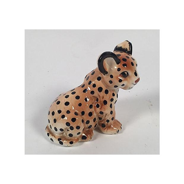 Ceramic Leopard Cub - Image 4 of 5