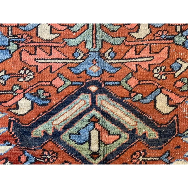 Textile Antique Persian Sarapi Rug For Sale - Image 7 of 12
