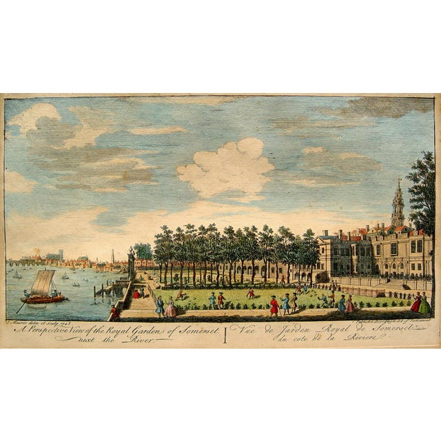 Royal Gardens of Somerset, 1748 For Sale