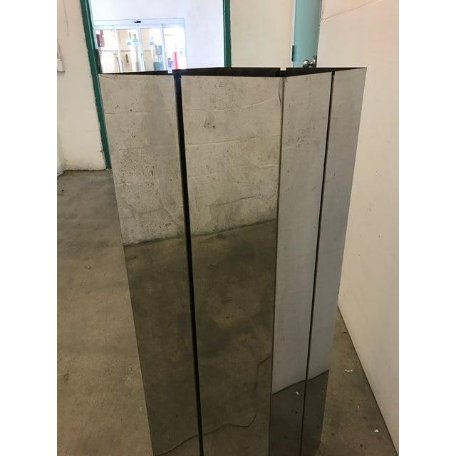Pace Contemporary Chrome Pedestal - Image 3 of 8