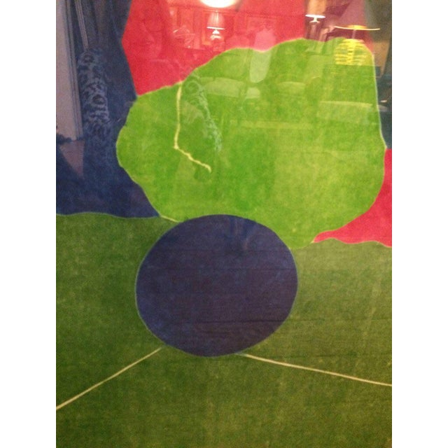 """1980s Vintage """"I'll Catch the Sun"""" Abstract Silkscreen Artist's Proof For Sale - Image 4 of 8"""