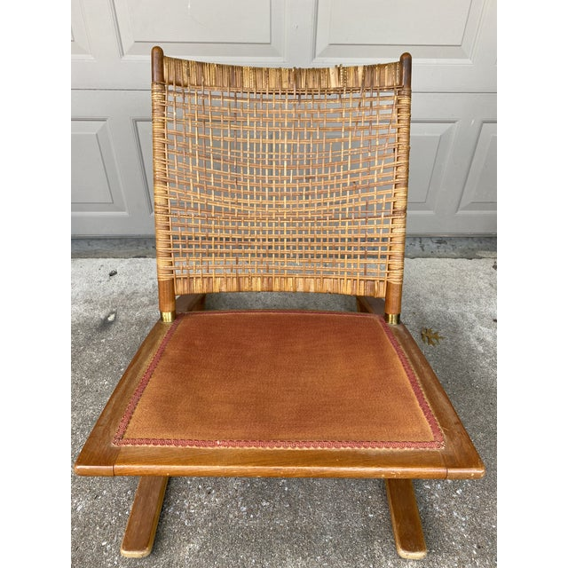 1950s 1950s Fredrik Kayser Rocking Chair For Sale - Image 5 of 6
