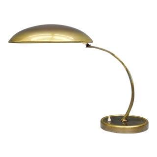 Brass Desk Lamp by Christian Dell Model 6751 for Kaiser, Germany 1950s For Sale