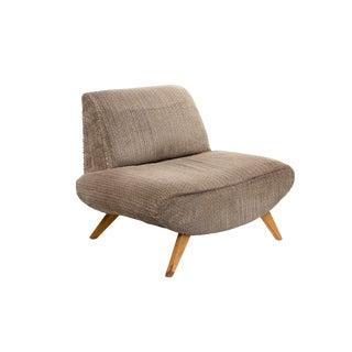 Modern Slipper Chair For Sale