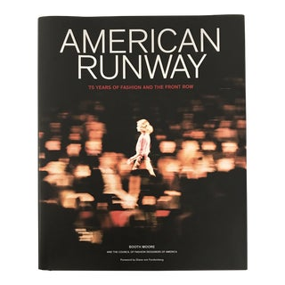 "2018 ""American Runway"" First Edition Photo/Art Book For Sale"