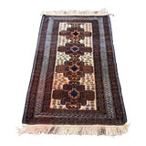 Image of 1980s Black Pearl Anatolian Rug - 4′11″ × 2′11″ For Sale