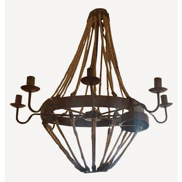 Great looking chandelier! We can see this is an chic apartment or a rustic country house - very versatile! The...