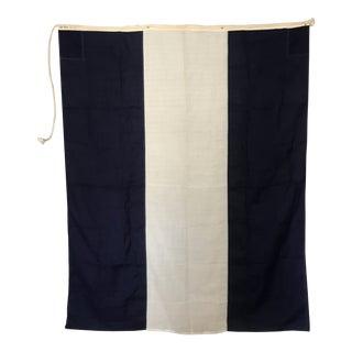 """Vintage Signal Flag """"J Juliet"""" For Sale"""