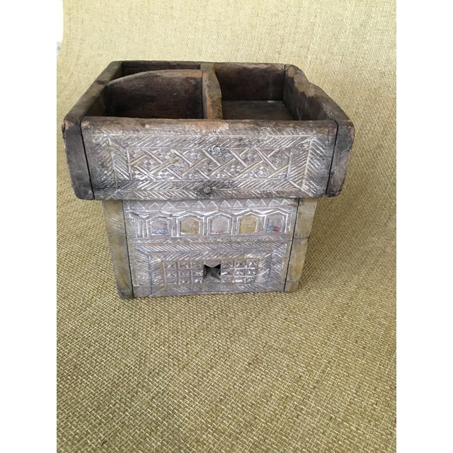20th Century Asian Style Wood Box For Sale - Image 4 of 13