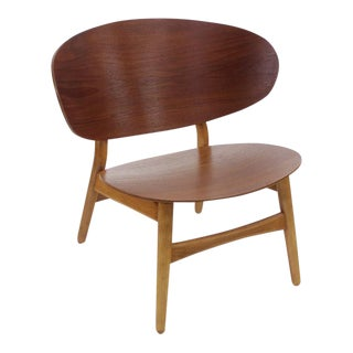 Danish Modern Teak & Beech Chair Designed by Hans Wegner For Sale