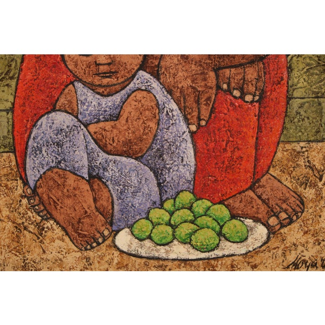 Mexican Style Oil Painting - Image 5 of 11