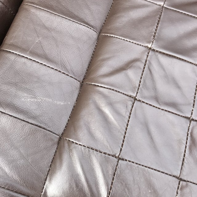Modular Leather Sectional Sofa by Percival Lafer For Sale - Image 9 of 13