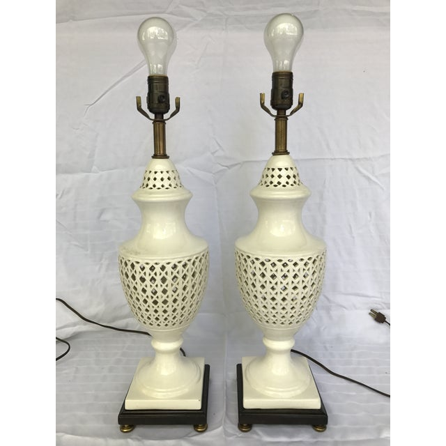 Chinoiserie Frederick Cooper Signed Table Lamps - A Pair - Image 8 of 8