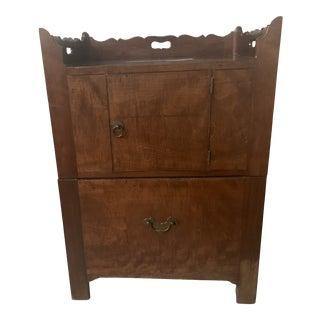 Late 18th Century English Georgian Chamber Cupboard For Sale