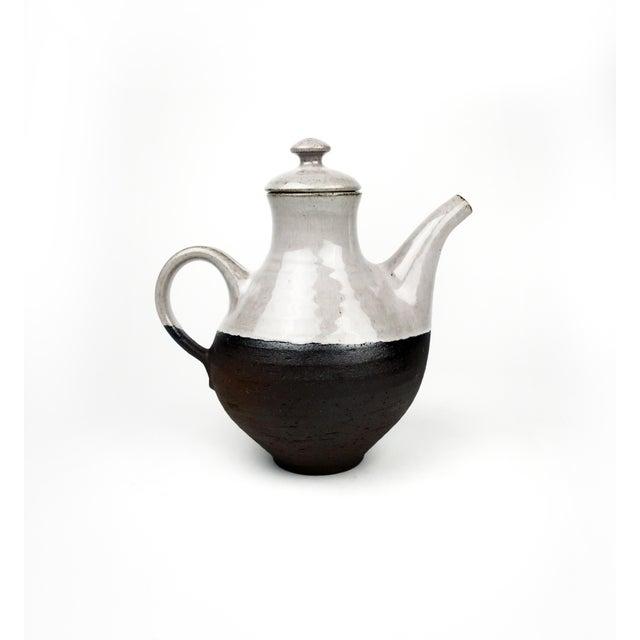 1960s Danish Modern Ditlev Ceramic Tea Pot For Sale - Image 5 of 8