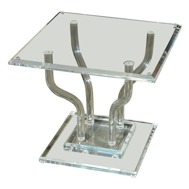 Lucite Occasional Table - Image 7 of 7