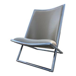 Mid-Century Modern Scissor Chair by Ward Bennett For Sale