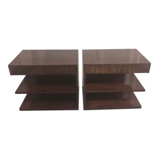 Ralph Lauren Modern Hollywood Tables - a Match Pair For Sale