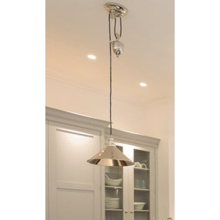 Provence Rise & Fall Polished Nickel Pendant Preview