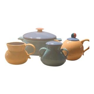 Vintage Lindt Stymeist Colorways Serveware-Set Of 4 For Sale