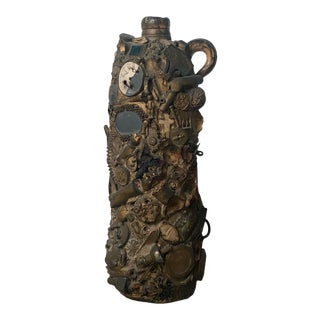 American Folk Art Memory Jug, Circa 1860 For Sale
