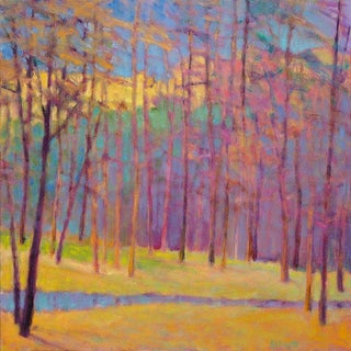 Ken Elliott, Forest Colors Arrayed Painting, 2018