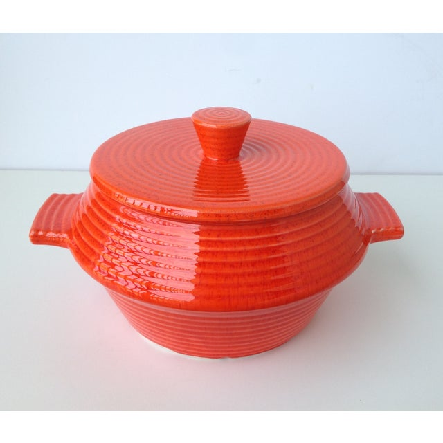 Americana California Pottery Lidded Soup Tureen For Sale - Image 3 of 11