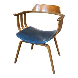 Thonet Barrel Back Dining Chair