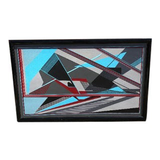 1980s Abstract Painting