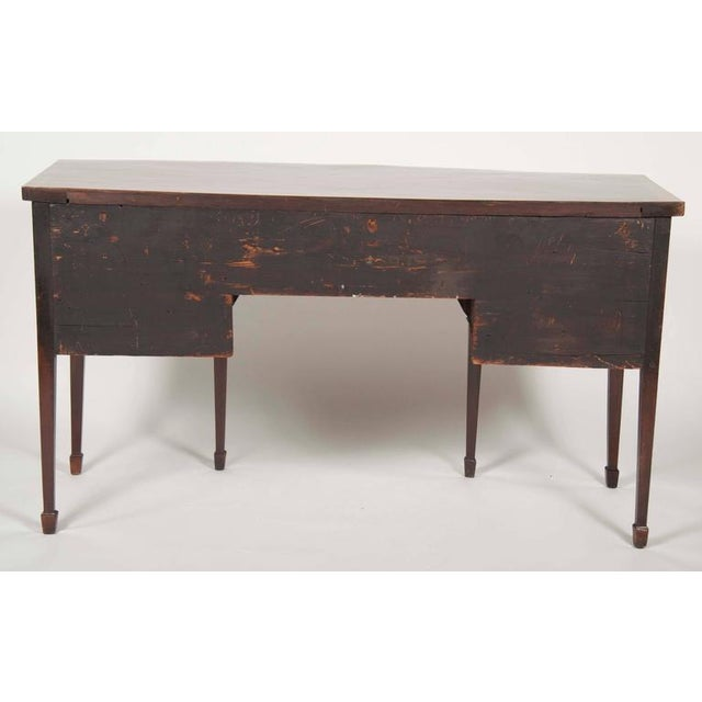 Mahogany Fine George III Mahogany and Satinwood Inlaid Sideboard For Sale - Image 7 of 10