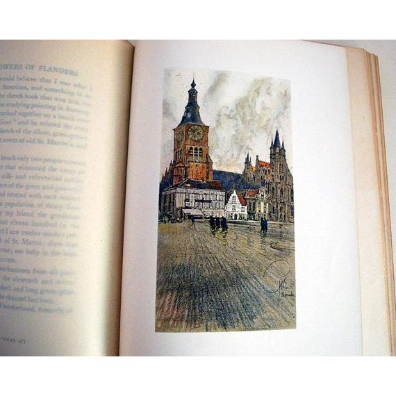 1910s 1916 Vanished Towers & Chimes of Flanders, 1st Edition Book For Sale - Image 5 of 6
