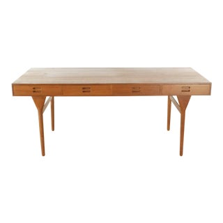 Contemporary Nanna Ditzel Rosewood 3-Drawer Writing Desk For Sale