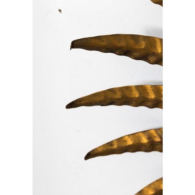 Metal 1920s Gilded Sunburst Mirror For Sale - Image 7 of 9