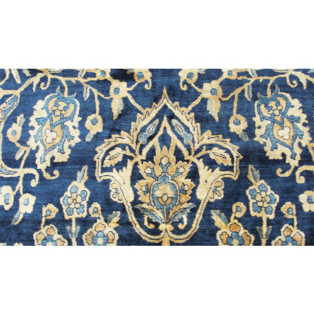 """Early 20th Century Antique Persian Laver Kerman Carpet, 8'5"""" X 11'7"""" For Sale - Image 5 of 9"""