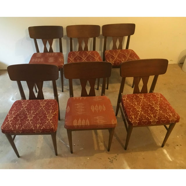 Vintage Modern Danish Style Dining Chairs - Set of 6 - Image 8 of 10