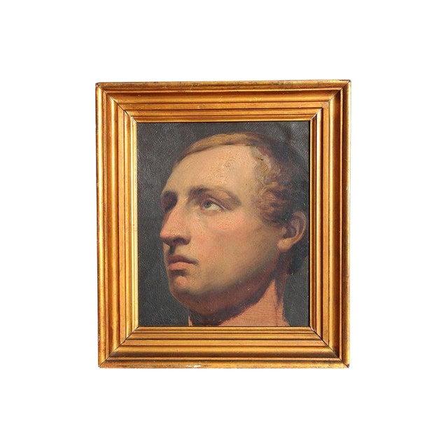 Portrait of a Young Man by Willem Hendrik Schmidt (1809-1849) Dutch For Sale